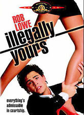 Illegally Yours (DVD New) Rob Lowe*Colleen Camp*Kim Myers WS