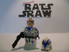 Lego star wars minifigures -- clone custom trooper dogme - 501st -