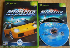 NEED FOR SPEED HOT PURSUIT 2 for XBOX COMPLETE by EA