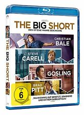 The Big Short [Blu-ray](NEU/OVP) Christian Bale, Brad Pitt /Börsencrash von 2008