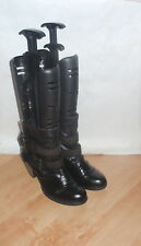 NEW Clarks womens black leather ankle boots size 8  AFRICAN GLOW