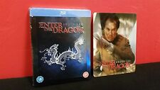 Bruce Lee ENTER THE DRAGON - Embossed BLURAY Steelbook & 3D Lenticular Magnet