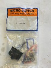 MICRO SWITCH HONEYWELL Sealed Operator Controls  DPDT 2TL887-3 E1205024 W/ HW