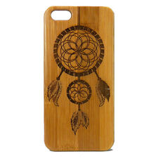 Dreamcatcher Case for iPhone 7 Bamboo Wood Phone Cover Native American Dream