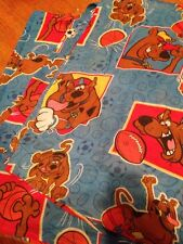 Scooby Doo 2 Curtains Panels Blue Red Yellow