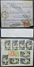 RUSSIA 1922 Old + New Rubel Mix on RARE Inflation Cover Orel/Orjol to GERMANY
