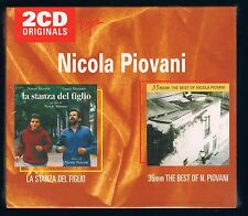 NICOLA PIOVANI LA STANZA DEL FIGLIO 35mm THE BEST OF  BOX 2 CD F.C. SIGILLATO!!