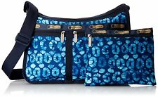 LESPORTSAC  EVERYDAY DELUXE BAG Tulum blue cross body vacation cruise mexico NWT
