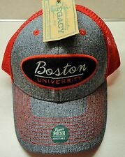 Boston University Snapback hat (Brand New w. Tags) Mesh sides & back LEGACY NCAA