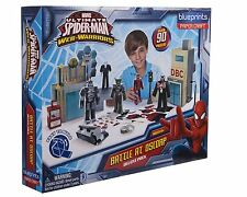 MARVEL cianografie Spider-Man BATTLE alla oscorp DELUXE PACK Paper Craft assemblare