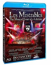 Les Miserables The Musical Event of a Lifetime [25th Anniversary] (Blu-ray) NEW