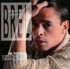 ~NEW~Quinze Ans d'Amour by Jacques Brel (CD, Jan-2003,IMP)~FREE SHIP US!