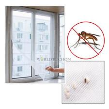 200cmx 150cm DIY Flyscreen Curtain Insect Fly Mosquito Bug Window Mesh Screen WT