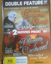 DOUBLE FEATURE *THE RISE OF CATHERINE THE GREAT *+ 1 * USED   *