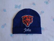 Chicago Bears Personalized Baby Hat (0-2 year)
