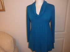 Britsh Home Stores Top / Tunic - Turquoise size 12