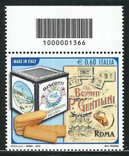 ITALIA 2010 MADE IN ITALY/GENTILINI/COOKIES/FOOD/INDUSTRY/ROME  CODICE A BARRE