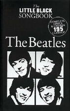 THE LITTLE BLACK SONG BOOK THE BEATLES! 195 SONGS SONGBOOK w/ CHORDS  LYRICS