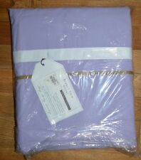 Pottery Barn Teen Kids Grossgrain Ribbon Trim Duvet Full Queen Lavender #71