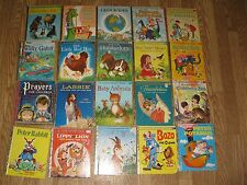 Lot of 20 A Little Golden Book First Edition Children's Books Vintage Rare 29c