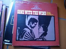 "LP 12"" OST GONE WITH THE WIND MAX STEINER G/FOLD SILVER SCREEN SOUNDTRACK SERIES"