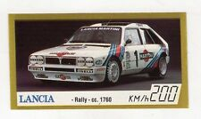 figurina - BAGGIOLI GOLDEN CAR NUMERO 64 LANCIA RALLY CC. 1760