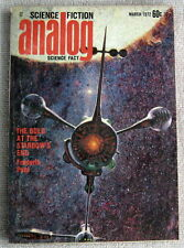 ANALOG March 1972 The Gold at the Starbow's End by Frederik Pohl