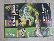 $$ Revue Reptil mag N°4 leards  venimeux  reproduction Crawl Cay  pythons nains