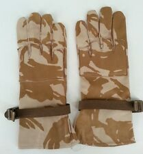 *NEW* Size 9 Genuine British Military Tactical Gloves - Desert DPM - Leather