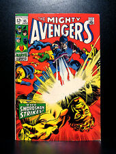 COMICS: Marvel: Avengers #65 (1969), Swordsman app - RARE (thor/spiderman/hulk)