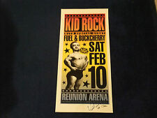KID ROCK SIGNED POSTER