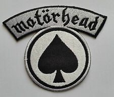PUNK ROCK HEAVY METAL MUSIC SEW ON / IRON ON PATCH:- MOTORHEAD (a) ACE OF SPADES
