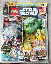 MAGAZINE: LEGO STAR WARS with Millennium Falcon, NEW 2015, LIMITED EDITION