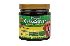 NaturVet GRASS SAVER Soft Chews Jar with Enzymes for Dogs 120 ct
