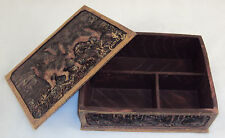Al Agnew Keepsake Box ~ Wolves In The Winter Woods ~ BEAUTIFUL ARTWORK NEW