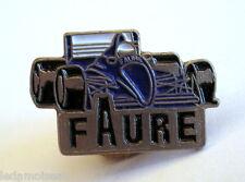 Insigne PIN'S voiture sport automobile Formule 1, FAURE, voir photo.