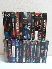 Lot of 23 Horror VHS Tapes