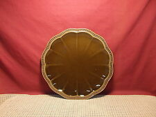 Roscher & Co. Dinnerware Hobnail Cocoa Pattern Dinner Plate