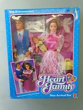 The Heart Family Doll Set by Mattel 1985 NEW SEALED MIB Barbie Pregnant