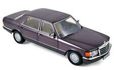 1:18 Mercedes-Benz 560 SEL W126 S-Klasse Limousine 1986-91 bornit metallic Lmtd