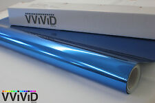 Blue Chrome New Roll 5ftx10ft Vinyl Wrap Decal for Bike Boat Car BCR5M