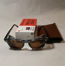 American Optical Flex-Fit Antique NOS safety glasses w/ Side Shields - 46 Medium