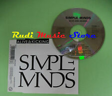 CD singolo Simple Minds ‎Alive & Kicking Virgin THEME 11 UK 1990 no lp mc(S19)
