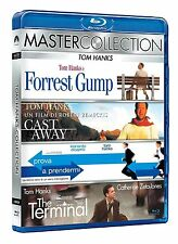 Forrest Gump + Cast Away + Catch me if you can  + The Terminal  Blu-Ray #Neu#