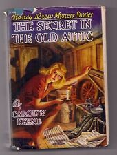 NANCY DREW  1944  THE SECRET in the OLD ATTIC   DJ   1st ED?  NICE