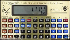 New Jobber 6 Advanced Construction Calculator