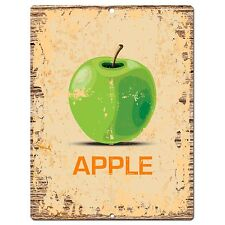PP0843 APPLE Parking Plate Chic Sign Home Kitchen Restaurant Cafe Decor Gift