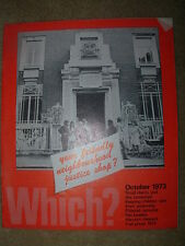 VINTAGE WHICH MAGAZINE OCTOBER 1973 SMALL CLAIMS - FAN HEATERS - FUEL PRICES