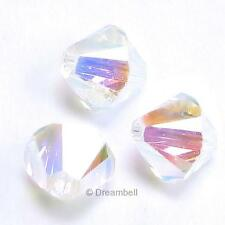 SWAROVSKI XILION CRYSTAL Element 5328 Bicone Bead 2X AB Many Color Size 3mm 4mm