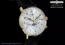 New Zeppelin LZ129 Hindenburg 7038-1 Swiss Made Ronda 706B Movement Men's Watch